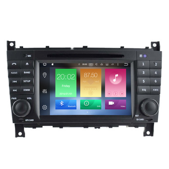 Android 6.0 car navigation dvd player multimedia radio for Mercedes W203 with GPS bluetooth SD USB phonebook FM AM RDS HD DVD