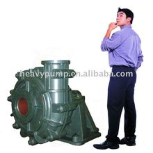 High chrome alloy and high efficiency impellers horizontal slurry pump 25HHS-C