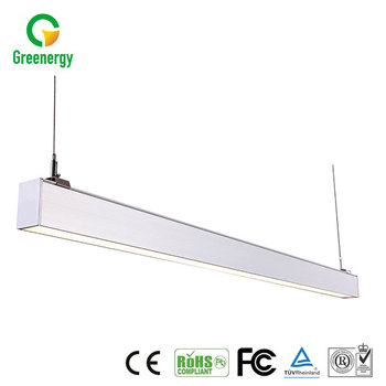 Hot selling wholesale cheap aluminnum high bay pendant led linear light
