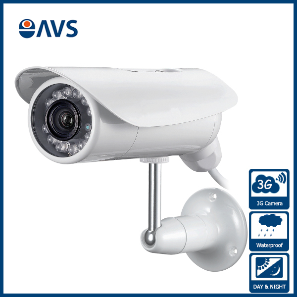Hot CMOS 720P WCDMA 3G Support <strong>Max</strong> 128GB SD Card IP Camera
