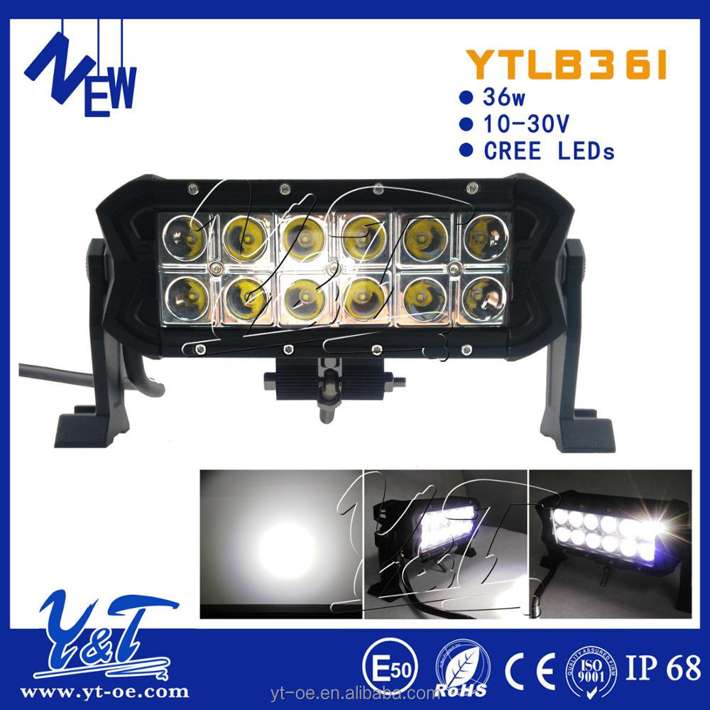 Dust Shock motorbike 10w led off road light bar 250cc dazon buggy parts