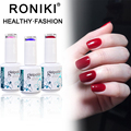 RONIKI Cheap Wholesale Free Sample Series Colors Custom Labels Soak Off Uv Nail Gel Polish