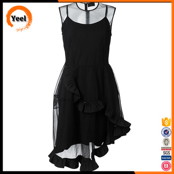 Fat Women Dress Designs, Sleeveless Plus Size Women Dress