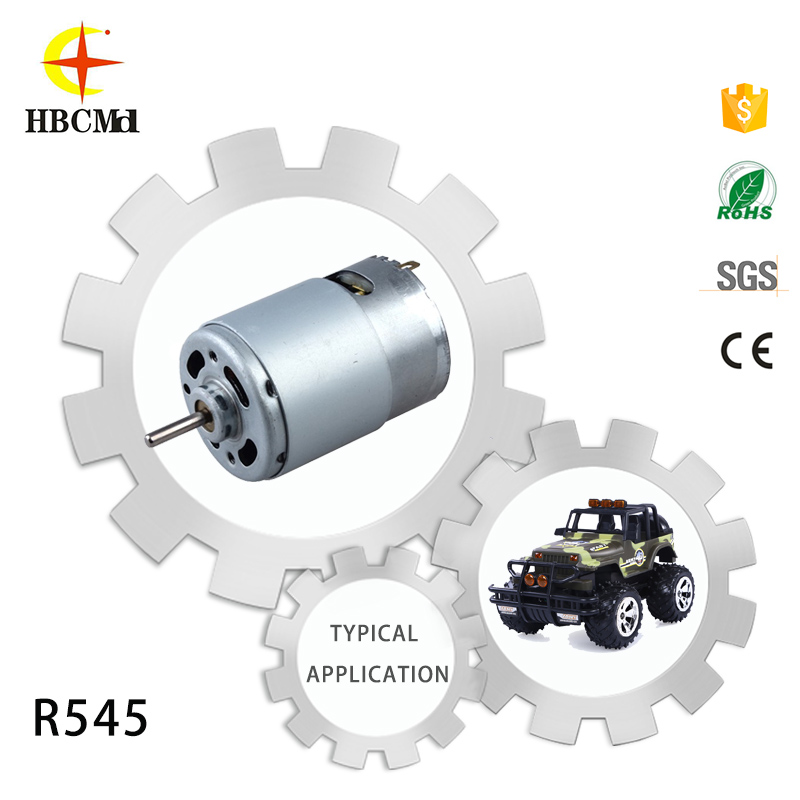 Jieyang Huibaochang worm type high rpm toy motorcycle 12v starter motor