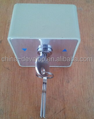 Exquisite Workmanship Hot Sale key switch for roller shutter/roller door
