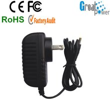 USB to a v adapter with CE Rohs FCC ERP CEC DOE UL