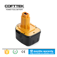 The best quality of replacement Dewalt 12V 1.5Ah Ni-CD rechargeable power craft cordless drill battery power tool battery