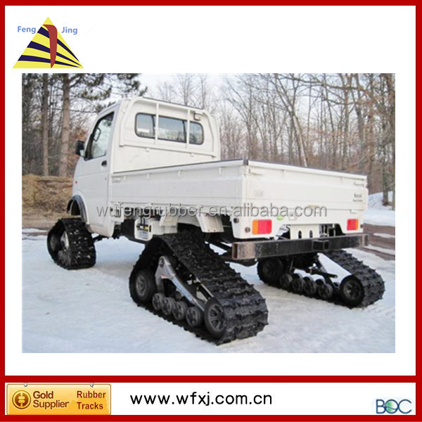 ATV conversion system kits/PICKUP TRUCK track kits/ traking system for pickup
