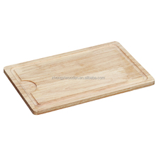 hot selling ISO9001&FSC&SA8000 fancy rubber food grade chopping wooden fruit cutting board for factory price