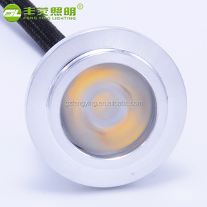 Europe 12v cabinet custom made Recessed led downlight 1W