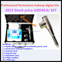Portable complete eyebrow tattoo permanent makeup kit eyebrow tattoo machine, permanent makeup sets