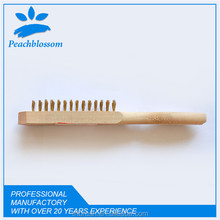 High Quality Steel Wire Brush With Wooden Handle Professional Cleaning Brush Brass In Brush