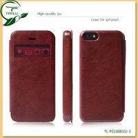 For iPhone 5C Case, 2013 New Arrival new Style Stand Leather Case for iPhone 5C inside with card slots