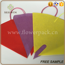 European style flower bouquets packaging flower bag
