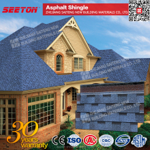 China Cheap Building Materials, Asphalt Shingle Roof for Prefabricated Houses