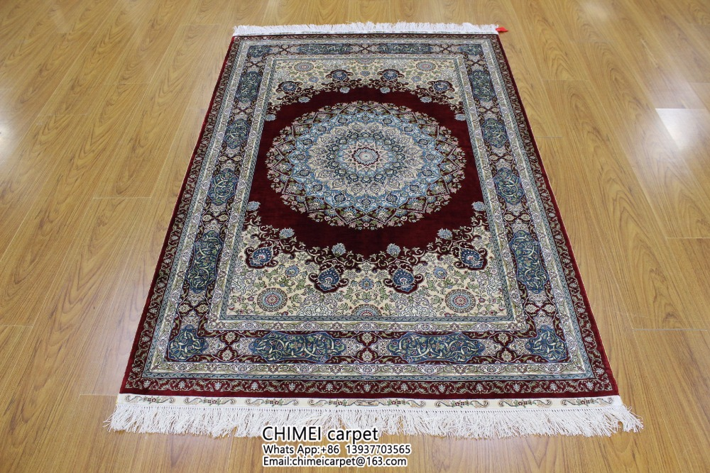 4x6 Ft High Quality Silk Handmade Turkish Kilim Rugs