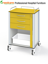 G-TE006 European Design Emergency Trolley Used Of Chemical Resistant Compact Phenolic Resin Board