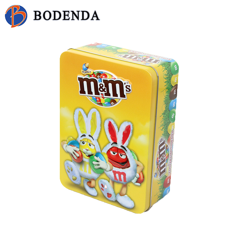 Best Selling Custom Logo square empty baking packing tin cans sale