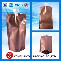 spout bag for apple juice/Soft drink Laminated material pouch