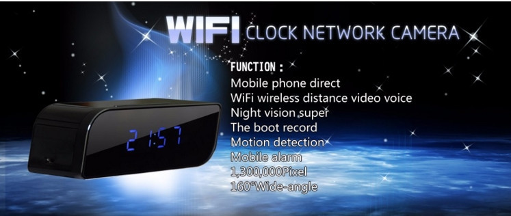 night vision HD 1280x720P mini Colok WiFi Camera for your phones mini dvr cam (T16 wifi)
