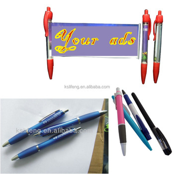Custom logo ball pen, promotional Wholesale cheap new style pen