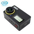 2.45 inch lcd display motorcycle helmet underwater action camera