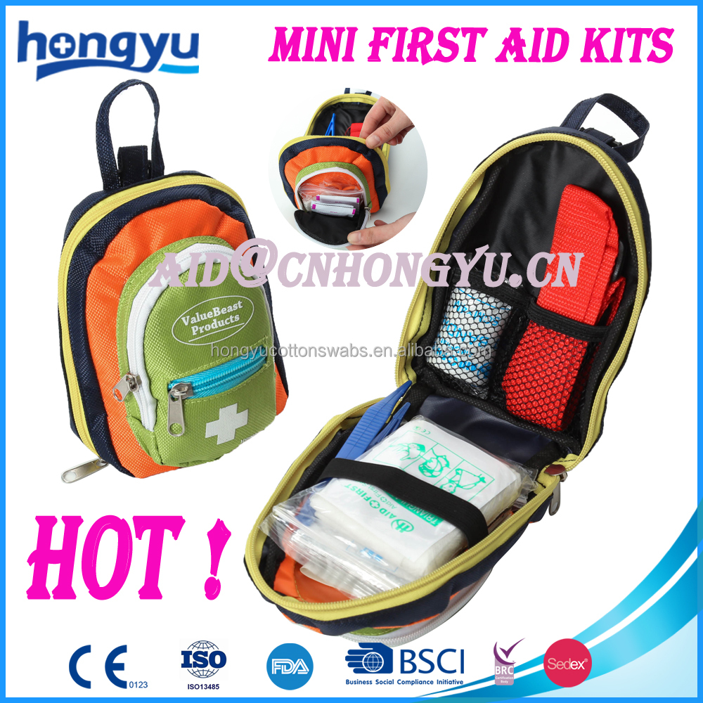 fda ce Compact Emergency Survival mini small first aid kit