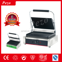 Made in China stainless steel commercial contact panini sandwich maker grill