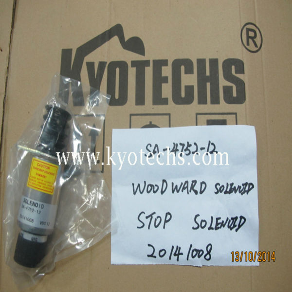 WOODWARD SOLENOID FOR SA-4752-12 20141008 STOP SOLENOID
