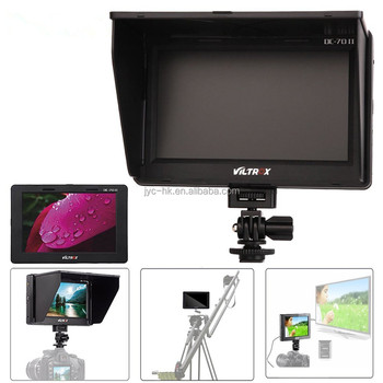"Viltrox Portable 4K LCD Monitor DC-70 II 7"" Inches Full HD Field Monitor for DSLR Camera Camcorder Broadcast"