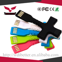 Wholesale 10cm Key Chain Ring Micro USB 2.0 Charger Cables Short Mini Sync Data Cable For Android Mobile Phone