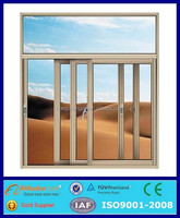 aluminum window specifications/aluminum frame glass double entry door