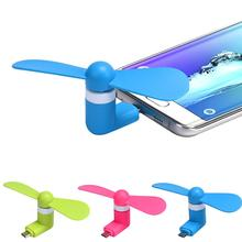 USB Phone Fan For Samsung For Sony For huawei For Lenovo Mobile Phone mini Fan