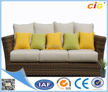 Customizable Multicolor Wicker Lounge Furniture