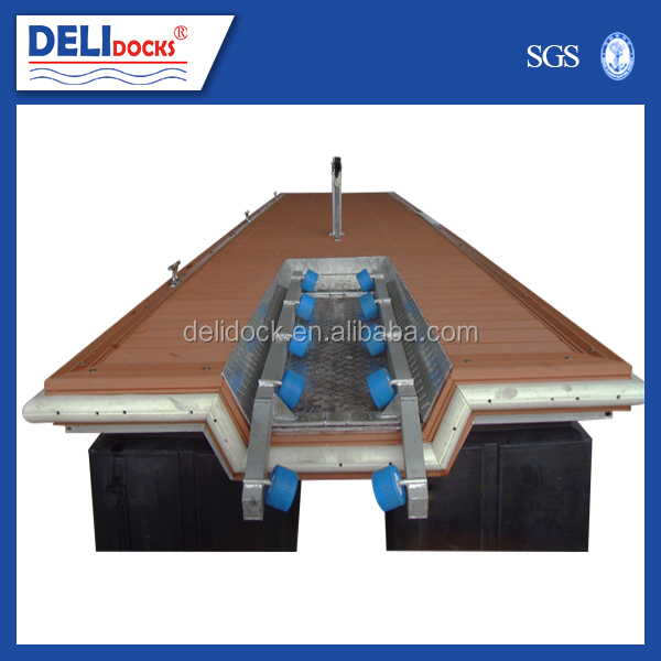 Metal steel frame jet ski floating dock for berthing