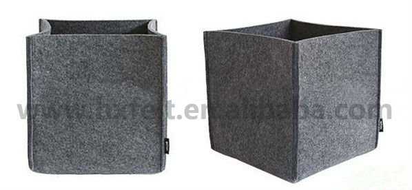 Manufacturer Felt Storage Box With Many Colors size can be customized