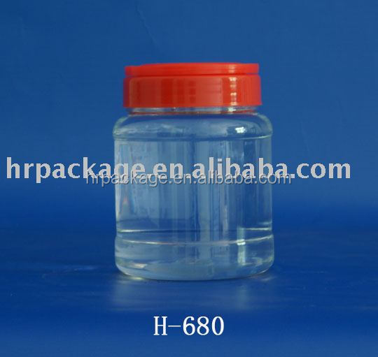 Plastic Jar To Contain Foodstuff Home Container