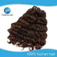 Accept any payment methods good qualiyt Brazilian natural hair weave color 4#
