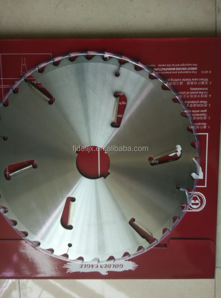 Circular saw blades for woodworking machine