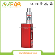 Newest !! SMOK Nano One Kit 80W TC R-Steam Mod with 2.0ml Nano TFV4 Tank black,silver,red,white color