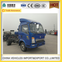 hot sale sinotruk 4*2 light truck used and new truck