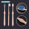 Degradable corn starch toothbrush for enviroment protection