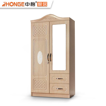 Modern Storage Closet Waterproof Almirah Designs Wardrobe Wooden