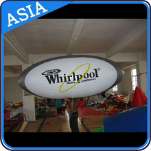 Egg shape promotional indoor or outdoor wholesale balloons/oval advertising inflatable helium balloon