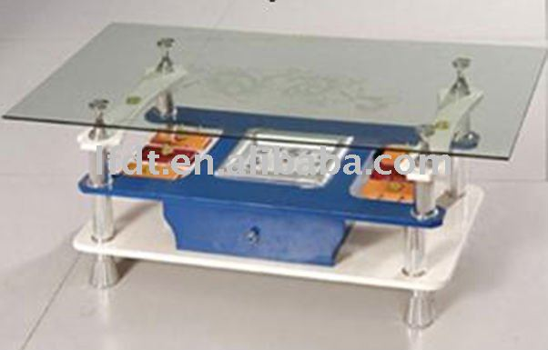 good qulaity top tempered glass centre table