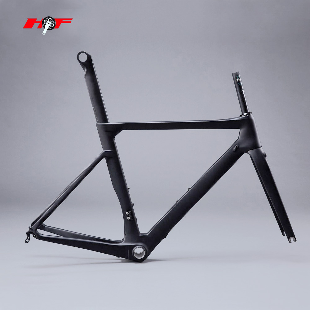 newest and high quality 700C road carbon bike frame aero T800 di2 compatible carbon aero road frame FM169