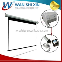 Motorized Projector Screen Installation