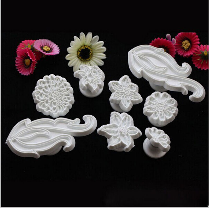 8pcs/set Cookie Biscuit Cutter Plastic Mould Cake Decorating Tools Chinese Supplier Shop Online Wholesale For Amazon