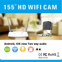 Beautiful 155 Degree Big View Angle IR Cut Night Vision Wifi IP Motion Detection Hidden Spy Camera