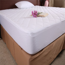 Quilted Fitted Mattress Pad (Queen) - Mattress Cover - Mattress Topper